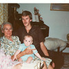 March 1983, with great Nana Dorrie
