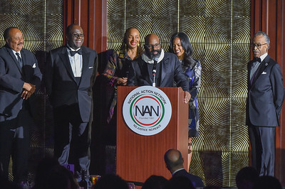 NEW YORK, NY - APRIL 18: 2018 National Action Network's Keepers of the Dream dinner at the Sheraton Times Square Hotel  on Wednesday,  April 18, 2018, in New York, NY, USA. (Photo by Aaron J. / RedCarpetImages.net for NAN)