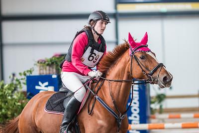 Event: Indoor SGW UtrechtDiscipline: Cross countryClass: B paardenLocation: De MeernCountry: The NetherlandsPhotographer: Hanna BromsDate: 15 februari 2014