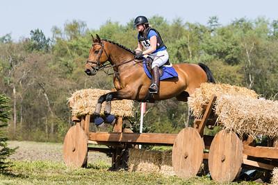 Rider: Horse: Event: SGW Etten LeurDate: 9 april 2017Discipline: Eventing - Cross CountryLevel: B paardenLocation: Etten LeurCountry: The Netherlands