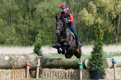 Rider:  Horse: Event: SGW Amsterdamse BosDate: 23 april 2017Discipline: Eventing - Cross CountryLevel: BB pony'sLocation: AmstelveenCountry: The Netherlands