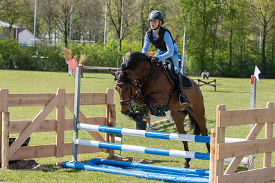 Event: Eventing Derby PuttenDate: 29 april 2017Level: Rubriek 70 cmLocation: PuttenCountry: The Netherlands