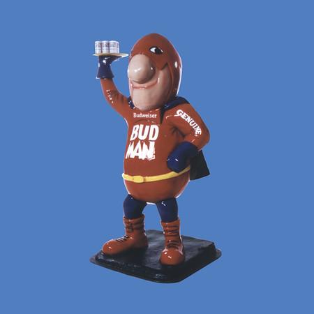 Bud Man, 6'H  #8074