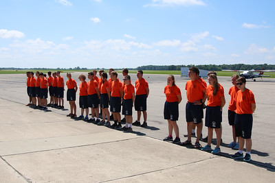 2018 Johnson Flight Academy at the Coles County Memorial Airport in Mattoon Illinois June 2018.  Photo by Maj Greg Hoffeditz