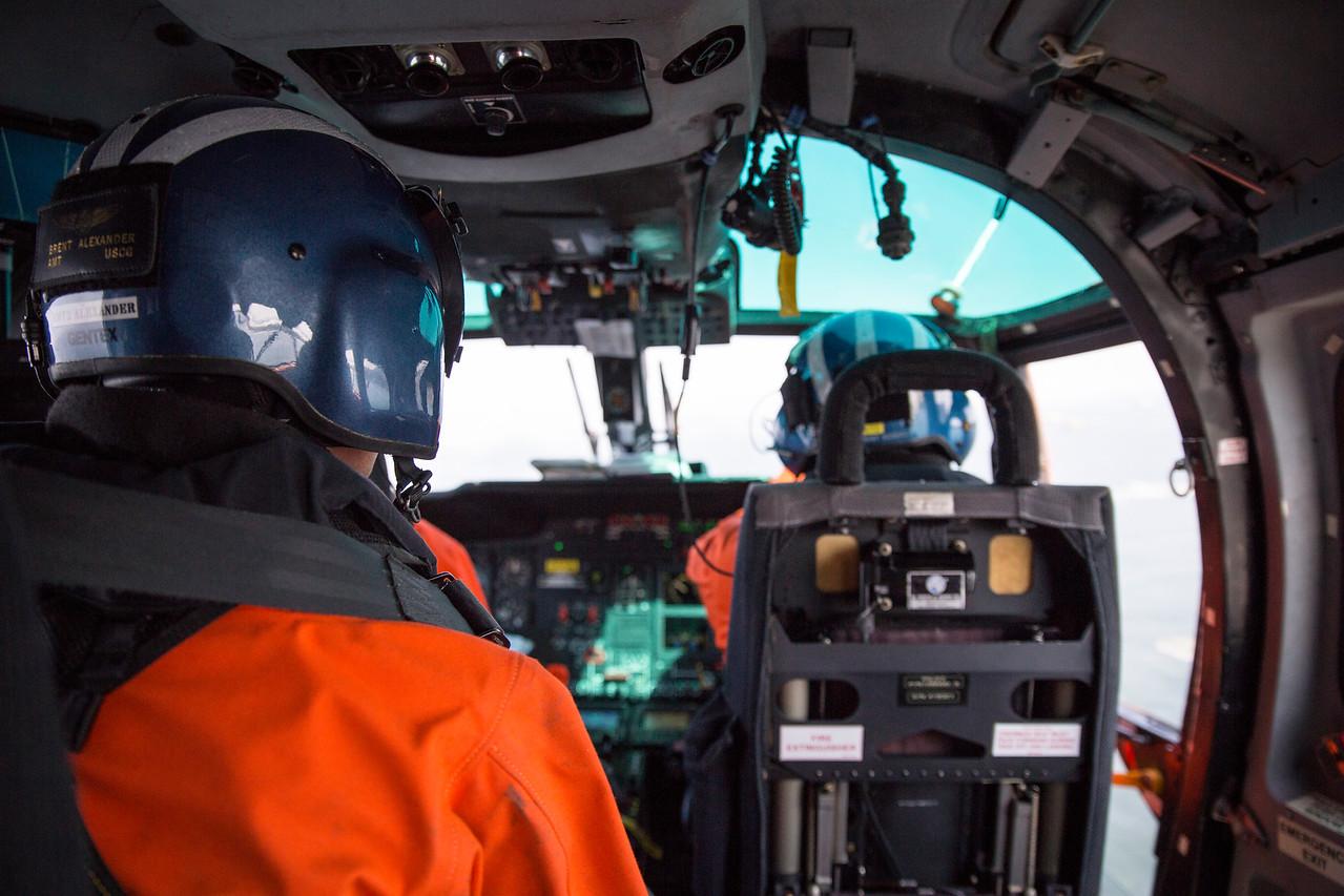 The Humboldt Bay Sector Coast Guard employs 250 active duty members.  (Sam Armanino - Times-Standard)