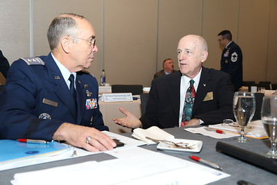 Civil Air Patrol members from across the United States attend the 2018 CAP National Conference in Anaheim, CA on Aug. 22, 2018. Civil Air Patrol is the auxiliary of the U.S Air Force and is a proud partner in the Total Force with more than 59,000 volunteer Airmen. Photo by Susan Schneider, CAPNHQ
