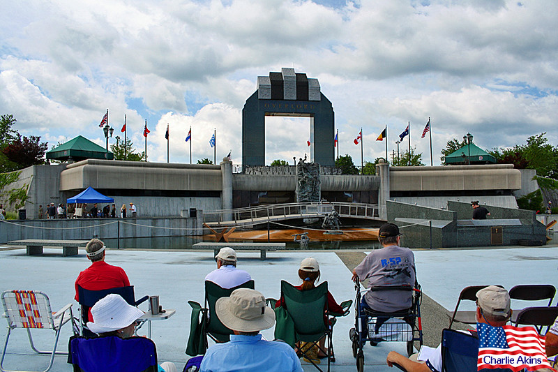 National D-Day Memorial ceremony