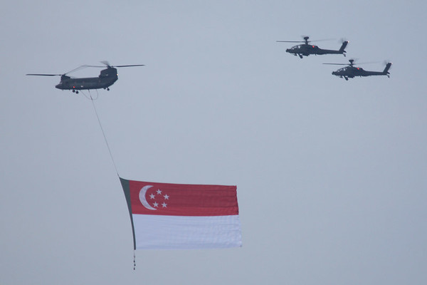 Singapore practices national service, so they are very proud of their armed forces.