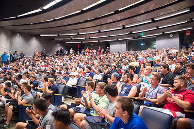 USA Football Camp opening day