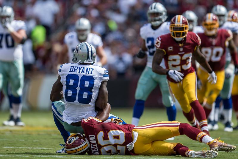 Dallas Cowbys vs. Washington Redskins