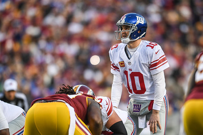 New York Giants vs. Washington Redskins