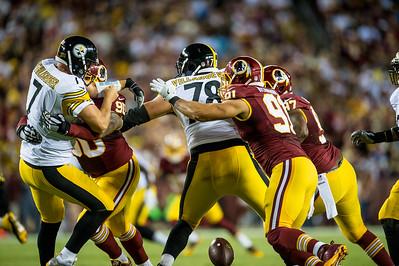 Washington Redskins vs. Pittsburgh Steelers