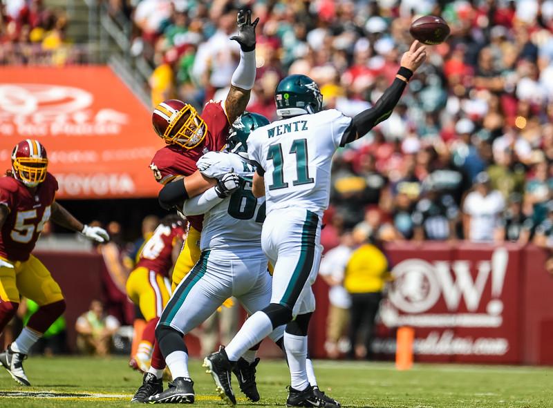 Washington Redskins vs. Philadephia Eagles