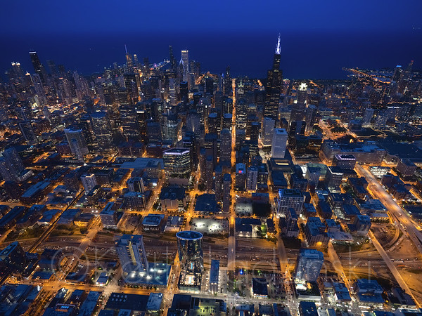 Aerials over heavy industrial shoreline over southern chicago and north east Indiana  t