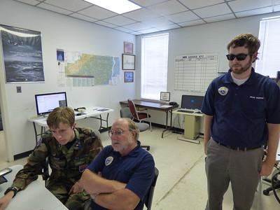North Carolina Civil Air Patrol members respond to Hurricane Florence