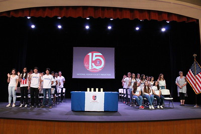 National Honor Society Induction Ceremony 2017