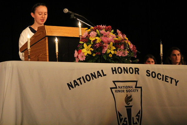 National Honor Society Induction 2017