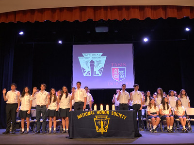 National Honor Society Induction Ceremony 2018-2019