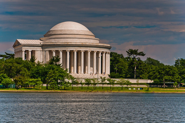 The Thomas Jefferson Memorial, in the National Mall, Washington, DC