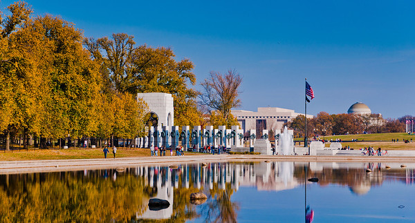 The National World War II Memorial, Washington, DC