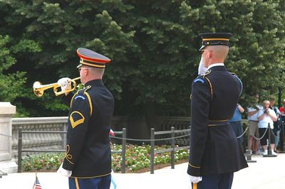 TAPS..PLAYED FOR OUR MEN AND WOMEN FALLEN IN IRAQ AND AFGANISTAN