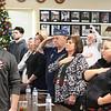 The family of Corporal Fernand E Frechette - his son Gary a Vietnam Veteran with hat on <br /> SENTINEL&ENTERPRISE/Scott LaPrade