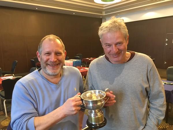 2016 National Pairs winners - Peter Hasenson & David Sherman