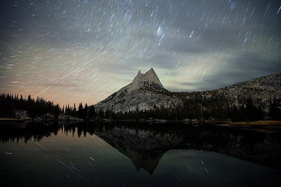 Upper Cathedral Lake Star Trails