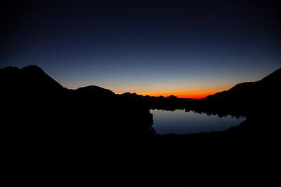 Evolution Lake Sunset