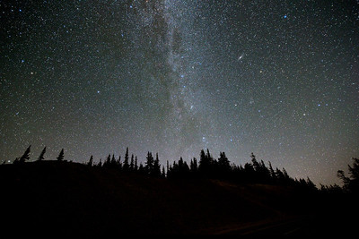 Andromeda at Crater Lake