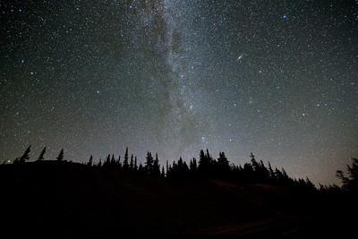 Andromeda at Crater Lake