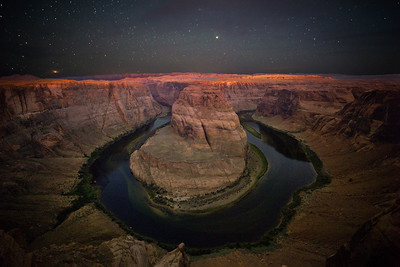 Dawn at Horseshoe Bend