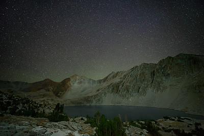 Lake Marjorie Under Stars