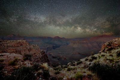 Milky Way Rising at Skeleton Point