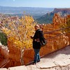 Kitty admired the sheer beauty of Bryce Canyon National Park