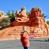 Red Canyon, located 13 miles west of Bryce Canyon on Highway 12