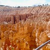 The best time to take pictures of Bryce Canyon is at Sunrise and Sunset.