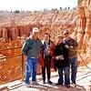 Godwin, Juanita, Kitty & Danny at Bryce Canyon