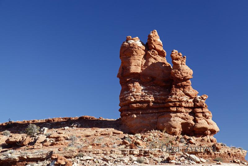 <p>Rock Pinnacles. Arches National Park, Utah, USA</p>