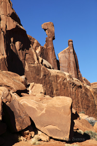 <p>Park Avenue. Arches National Park, Utah, USA</p>