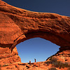 <p>Window arch, Arches National Park, Utah, USA</p>