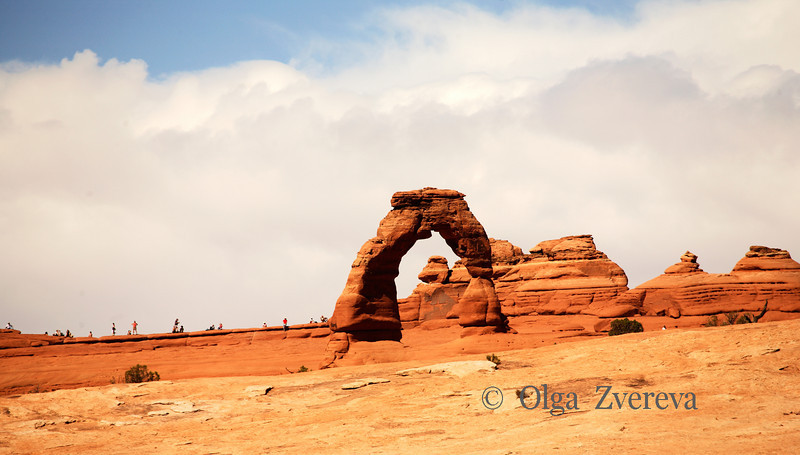 <p>Delicate Arch, Arches National Park, Utah, USA</p>
