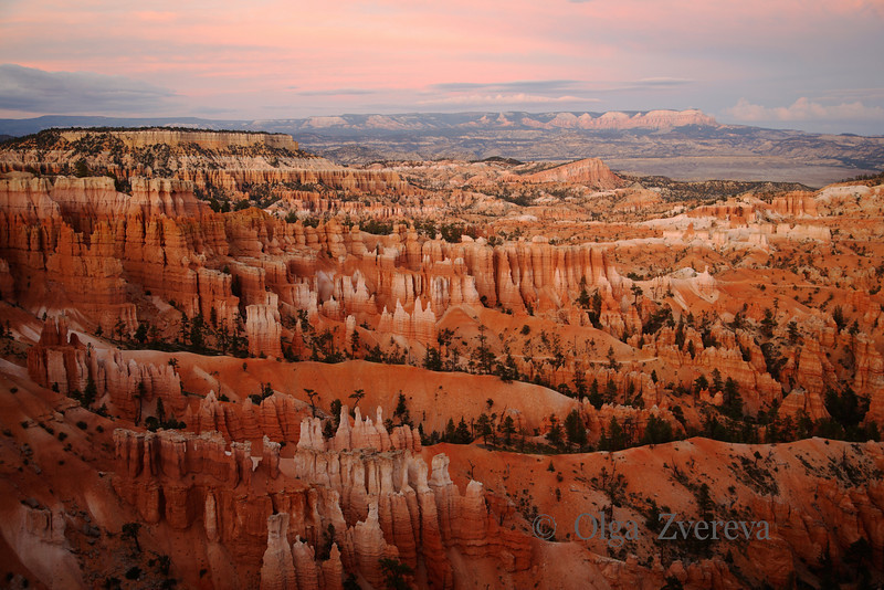 <p>Sunset at Bryce Canyon, Bryce Canyon National Park, Utah, USA</p>