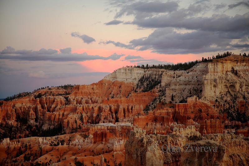 <p>Sunset, Bryce Canyon National Park, Utah, USA</p>