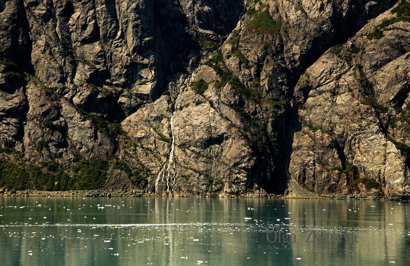 <p>Waterfall, Glacier Bay National Park, Alaska, USA</p>