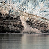 <p>Margerie Glacier calving, Glacier Bay National Park, Alaska, USA</p>
