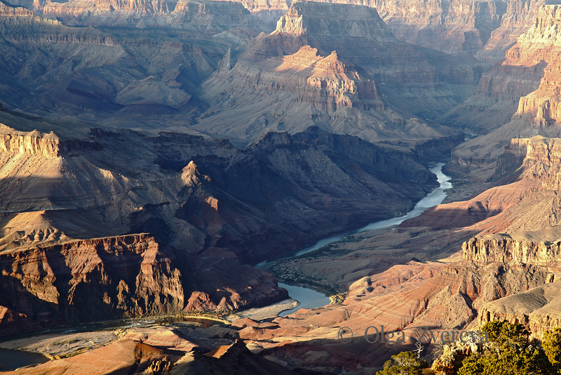 <p>Colorado River, South Rim, Grand Canyon National Park, Arizona, USA</p>