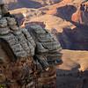 <p>Rock formation, South Rim, Grand Canyon National Park, Arizona, USA</p> <p>September 2009</p>