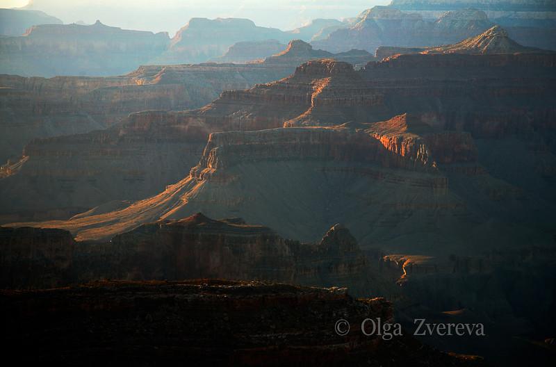 <p>Evening haze, South Rim, Grand Canyon National Park, Arizona, USA</p> <p>September 2009</p>