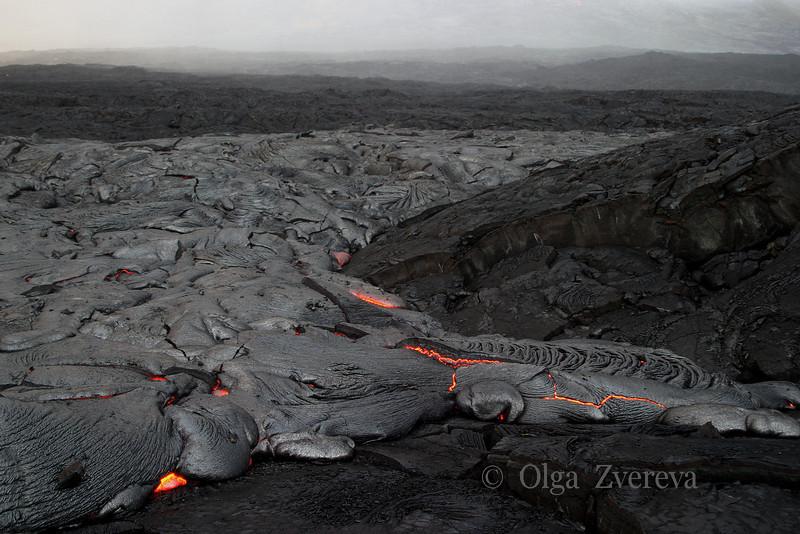 <p>Lava flow, Kilauea volcano, Hawaii Volcanoes National Park, Big Island, Hawaii, USA</p>